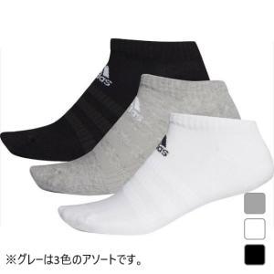 アディダス 3P ソックス パフォーマンス アンクルソックス (FIX60) 3足組 靴下 adidasの画像