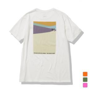 2021春夏 ノースフェイス メンズ アウトドア 半袖Tシャツ S/S Explorer Mesh Tee ショートスリーブエクスプローラーメッシュティー NT32177 THE NORTH FACE