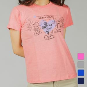 ディズニー Disney レディース 半袖Tシャツ DN-9C22009TSNK