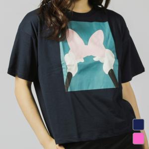 ディズニー Disney レディース 半袖Tシャツ DN-9C22039TSNK