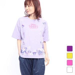 ディズニー レディース Tシャツ 半袖Tシャツ (DN-9C22189TSTM) Disney