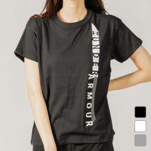 アンダーアーマー レディース 半袖Tシャツ UA GRAPHIC GF CREW 1348421 UNDER ARMOUR