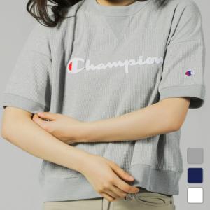 チャンピオン Champion レディース 半袖Tシャツ CREW NECK SHIRT CW-PS001 alpen-group
