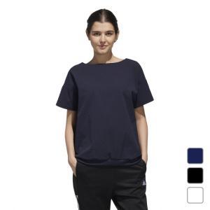 アディダス レディース Tシャツ 半袖Tシャツ W S2S シアサッカーTシャツ 半袖Tシャツ FTK81 adidas alpen-group