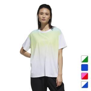 アディダス レディース Tシャツ 半袖Tシャツ W S2S 半袖 グラデーション Tシャツ FTK70 adidas alpen-group