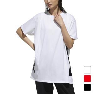 アディダス レディース 半袖Tシャツ W ID 半袖 サイドCAPリニア グラフィック Tシャツ DV0751 adidas alpen-group