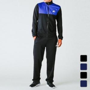 アディダス メンズ ジャージ 上下セット カラーブロックトラックスーツ MMJ73 adidas
