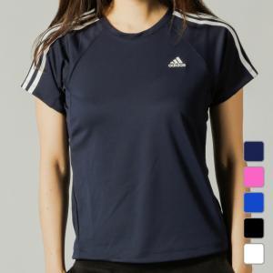 アディダス ◇どんなスポーツシーンにも合うベーシックな半袖Tシャツ。 ◇3本線を肩に配置したデザイン...
