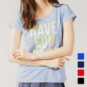 ディズニー Disney レディース 半袖機能Tシャツ DN-9A21519TS モク