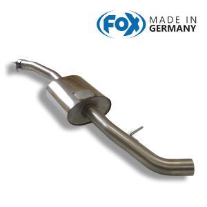 FOX フォックス オールステンレスマフラー(フロントマフラー) BMW E87 120i用|alpha-online-shop