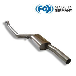 FOX フォックス オールステンレスマフラー(フロントマフラー) BMW F20 116i/118i用|alpha-online-shop
