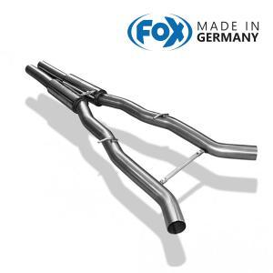 FOX フォックス オールステンレスマフラー(フロントマフラー) BMW F12/F13 650i用|alpha-online-shop