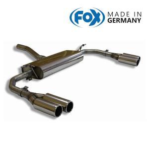 FOX フォックス オールステンレスマフラー(リアマフラー) MERCEDES BENZ C117 クーペ/X117 シューティングブレーク CLA180/CLA250用 80mm ダブル 左右|alpha-online-shop