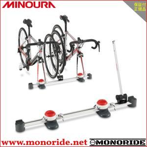 自転車を車で運ぶバーゴシリーズの3世代目 車内では車載器として、また、オプションのTFスタンドと組み...