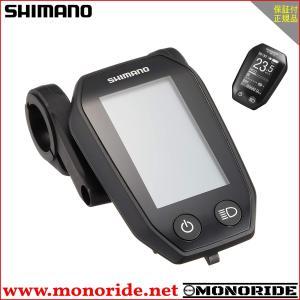 SHIMANO SC-E6010 STEPS (ライトアイコン無) 対応ハンドル径:Φ31.8/25.4mm シマノ サイクルコンピューター|alphacycling