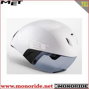 MET CODATRONCA コーダトロンカ エアロヘルメット ホワイト/ブラック メット|alphacycling