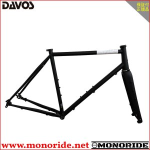 DAVOS D604 フレームセット マットブラック ダヴォス ダボス alphacycling