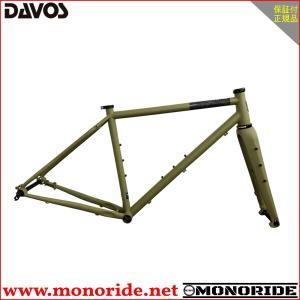 DAVOS D604 フレームセット マットオリーブグリーン ダヴォス ダボス alphacycling
