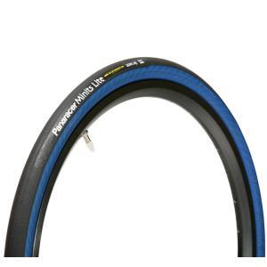 パナレーサー ミニッツライト 20インチ小径車用タイヤ 20×1.25 32mm 406サイズ ブラック/ブルー Panaracer Minits Lite|alphacycling