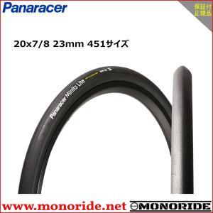 パナレーサー ミニッツライト 20インチ小径車用タイヤ 20×7/8 23mm 451サイズ ブラック Panaracer Minits Lite|alphacycling