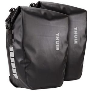 THULE PACK N PEDAL パックンペダル 防水パニアバッグ シールドパニア ペア 25L ブラック スーリー|alphacycling