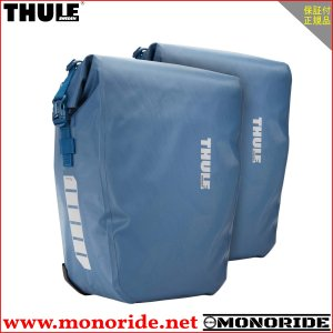 THULE PACK N PEDAL パックンペダル 防水パニアバッグ シールドパニア ペア 25L ブルー スーリー|alphacycling