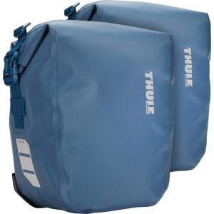 THULE PACK N PEDAL パックンペダル 防水パニアバッグ シールドパニア ペア 13L ブルー スーリー|alphacycling