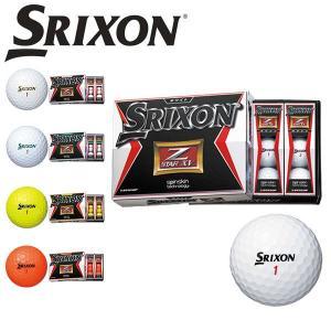 スリクソン 【SRIXON】 2015年 NEW Z-STAR XV ゼットスター エックス ブイ ゴルフボール 1ダース 12個入り 日本正規品