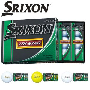 スリクソン TRI-STAR / トライスター  ゴルフボール 1ダース 12個入り 日本正規品 【SRIXON】