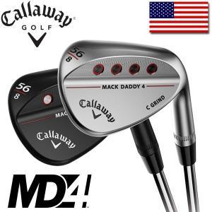 即納  キャロウェイ ゴルフ 2018年 マックダディ4 ウェッジ (クロムメッキ / マットブラック) CALLAWAY GOLF MACK DADDY 4 USAモデル alphagolf