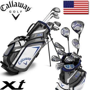 キャロウェイ ゴルフ ティーン ジュニア XT セット (クラブ 10本 + キャディバッグ + ヘッドカバー) Callaway XT 10 Piece Teen Set|alphagolf