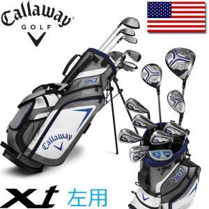 レフティ / 左用 キャロウェイ ゴルフ ティーン ジュニア XT セット (クラブ 10本 + キャディバッグ + ヘッドカバー) Callaway XT 10 Piece Teen Set|alphagolf