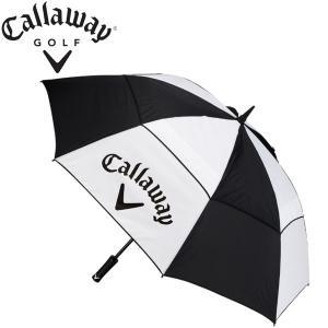 キャロウェイ ゴルフ アンブレラ パラソル 60インチ クリーンロゴ(ダブルキャノピー) 5915006 USAモデル CALLAWAY GOLF alphagolf