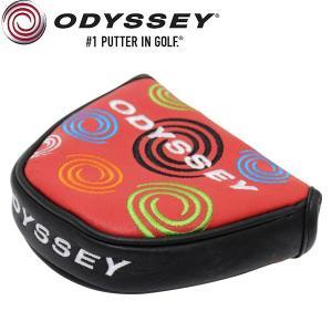 オデッセイ TOUR SUPER SWIRL RED 限定 パターカバー (マレット用)本革 / USAモデル Odyssey alphagolf
