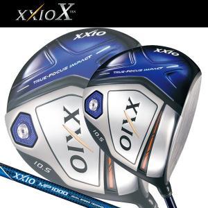 予約販売  ダンロップ ゼクシオ テン ドライバー ネイビー MP1000 シャフト  日本正規品 (DUNLOP XXIO X / XXIO 10 NAVY)|alphagolf