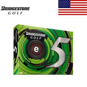 ブリヂストン e5 ゴルフ ボール 1ダース 12球入り 【2013年 USモデル】【特価】|alphagolf
