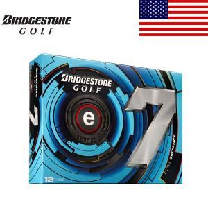 ブリヂストン e7 ゴルフ ボール 1ダース 12球入り 【2013年 USモデル】【特価】|alphagolf