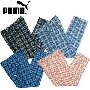 USAモデル プーマ PUMA ゴルフ Plaid Tech パンツ 562648 alphagolf