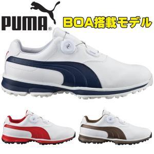 PUMA プーマゴルフ 2016年 春夏 boa 機能搭載 軽量スパイク ゴルフシューズ 188661 プーマゴルフ エース ボア / PUMA GOLF ACE BOA 【日本正規品】 alphagolf