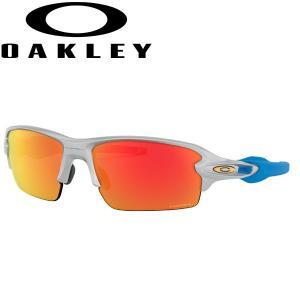 オークリー フラック2.0 プリズム ルビー サングラス OO9271-3361 アジアンフィット USAモデル OAKLEY PRIZM RUBY FLAK2.0 / シルバー|alphagolf