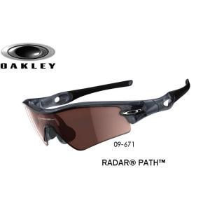 USAモデル オークリー レーダーパス サングラス 09-671 / USフィット (OAKLEY RADAR PATH)ブラックイリジウム レンズ / クリスタル ブラック フレーム