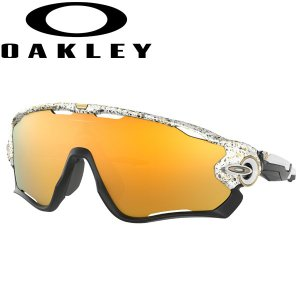 オークリー ジョウブレイカー サングラス メタリックスプラッターコレクション OO9290-4531 USモデル スタンダードフィット OAKLEY JAWBREAKER / 24Kイリジウム|alphagolf