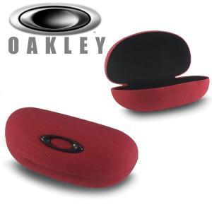 オークリー サングラス用 ハード ケース カラー: レッド 102-496-001 / OAKLEY ELLIPSE O SUNGLASS CASE|alphagolf