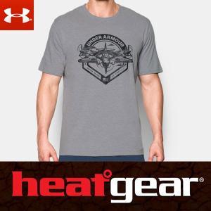 アンダーアーマー ヒートギア メンズ 半袖 Tシャツ ルーズフィット 1290486 / UNDER ARMOUR SHORT SLEEVE T USAモデル|alphagolf