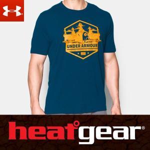 アンダーアーマー ヒートギア メンズ 半袖 Tシャツ ルーズフィット 1290488 / UNDER ARMOUR SHORT SLEEVE T USAモデル|alphagolf