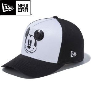 ニューエラ ゴルフ 9FORTY D-Frame キャップ ディズニー ミッキーマウス スパンコール  / NEW ERA GOLF CAP DISNEY MICKEY MOUSE alphagolf
