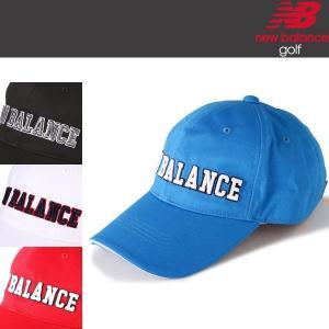 ニューバランス ゴルフ ロングブリム 6パネル キャップ (ユニセックス) 012-8187013 / 日本正規品 2018年モデル(NEW BALANCE) alphagolf