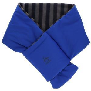 マンシングウェア MUNSINGWEAR ゴルフ メンズ コンパクトマフラー  MGBMJK01 BL00 ブルー 18fwct|alphagolf