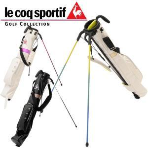 ルコック スポルティフ ゴルフ レディース セルフ スタンド クラブ ケース QQL5204 / フード付属 / 2017年モデル 日本正規品 (フード付属 / 5~6本用)|alphagolf