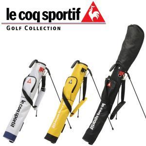 ルコック スポルティフ ゴルフ セルフ スタンド クラブ ケース QQ5050 / フード付属 / 2017年モデル 日本正規品 (フード付属 / 5~6本用)|alphagolf
